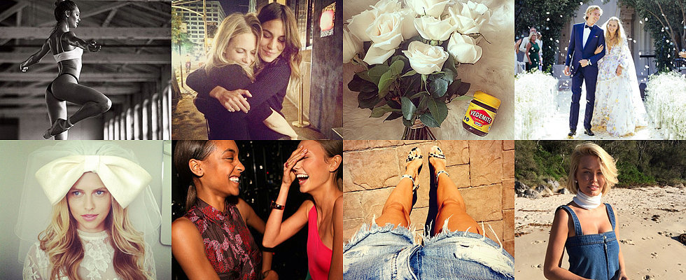 The Insta-Edit: Candice Swanepoel, Poppy Delevingne, Lara Bingle & More!