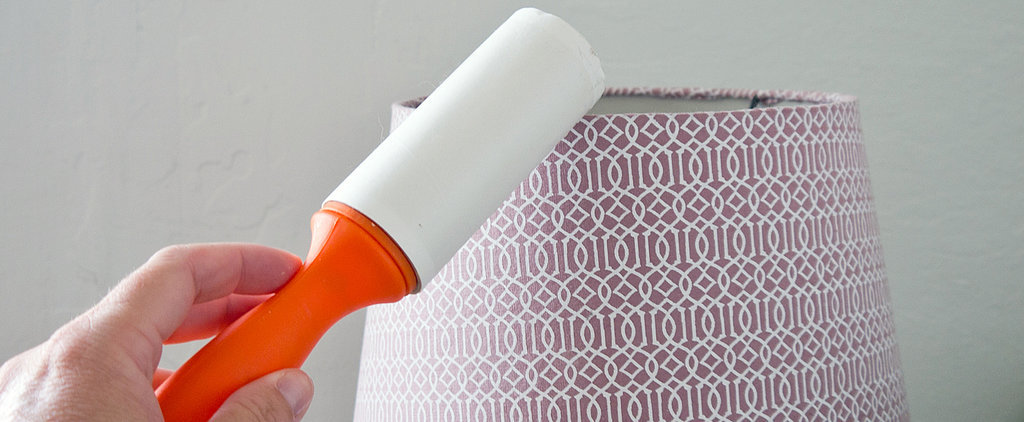 Quick Clean: Dust Lampshades With a Lint Roller