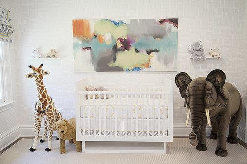 A Sweet Safari Nursery