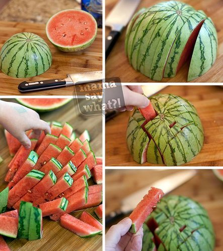 Watermelon For Little Fingers