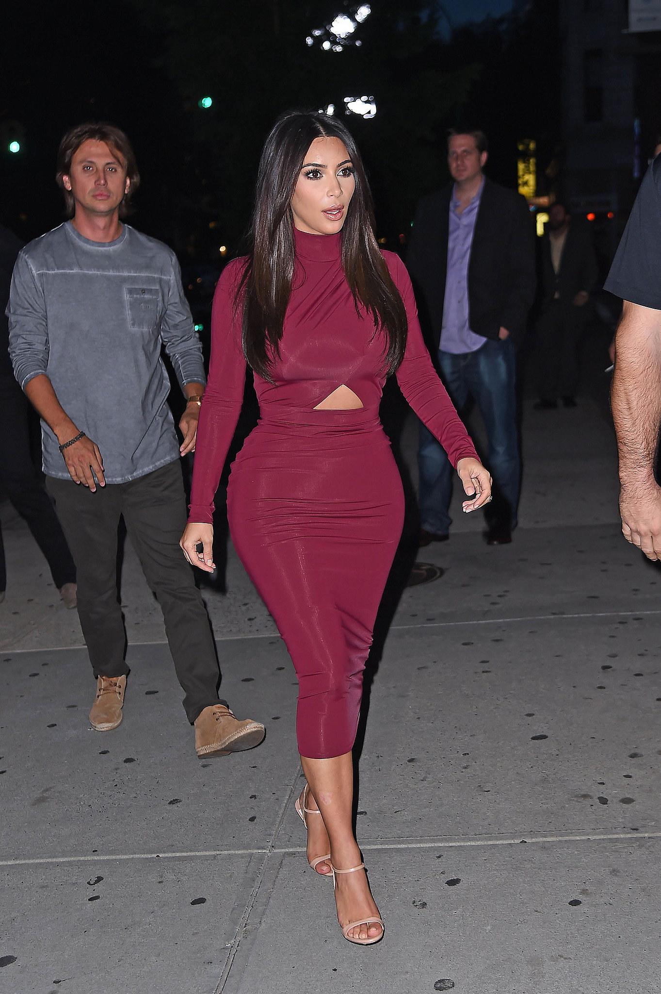 Kim Kardashian Street Style Kim Kardashian Is The Queen Of The Outfit Mullet Popsugar Fashion