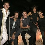Michelle Rodriguez, Producer Mohammed Al Turki, and the Brant Brothers