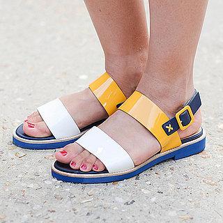 Entspannt oder elegant? Top 50: Flache Sandalen