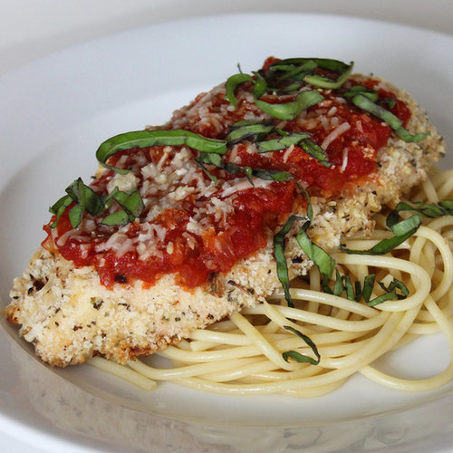 Healthy Low Fat Chicken Parmesan Lunch And Dinner Recipe | POPSUGAR ...
