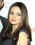 Smudgy Eyeliner (and Ashton Kutcher) Are Mila Kunis's Soul Mates