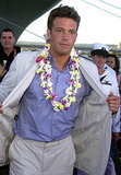 When He Got Lei'd at the Pearl Harbor Premiere