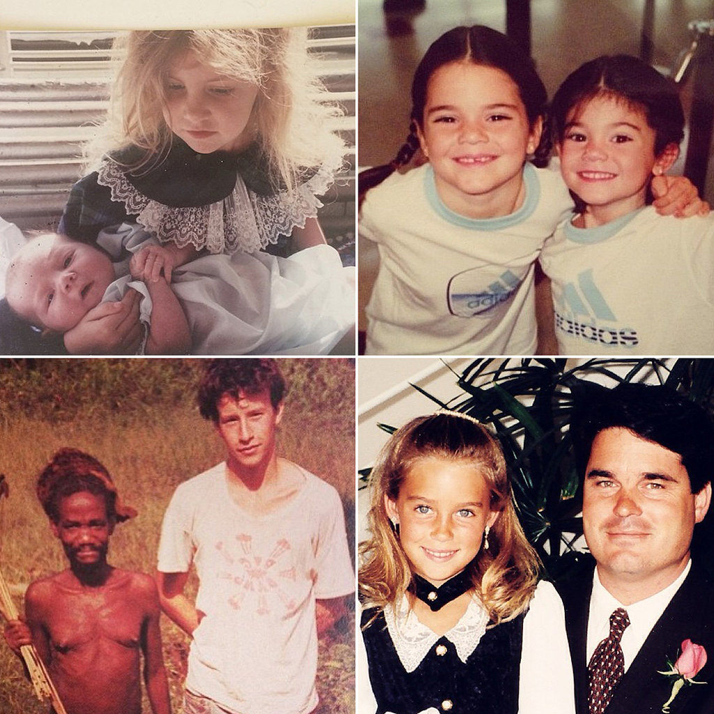 Celebrities Share the Ultimate Throwback Pictures