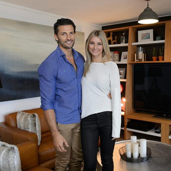 Tim Robards and Anna Heinrich Living Together Renovation