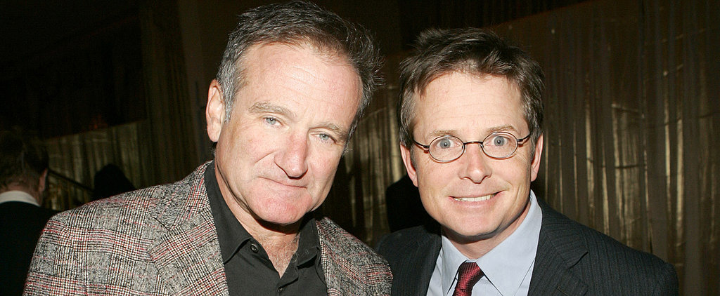 "Michael J. Fox ""Stunned"" Over News of Robin Williams's Parkinson's Diagnosis"