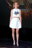 Another win was Jennifer's laid-back matching Dior set that she sported to the 67th annual Cannes Film Festival.