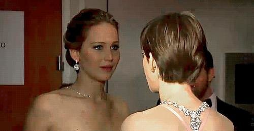 When She Looked at Anne Hathaway Like This