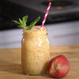 Vegan Peaches and Cream Smoothie Recipe