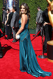 Nikki Reed donned a flowing gown.