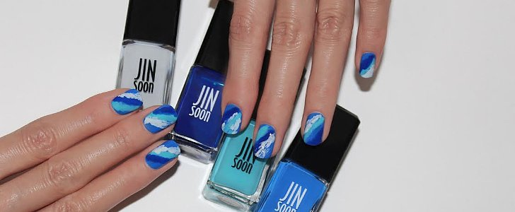 Nail This Beach-Waves Manicure Before Labor Day Weekend!