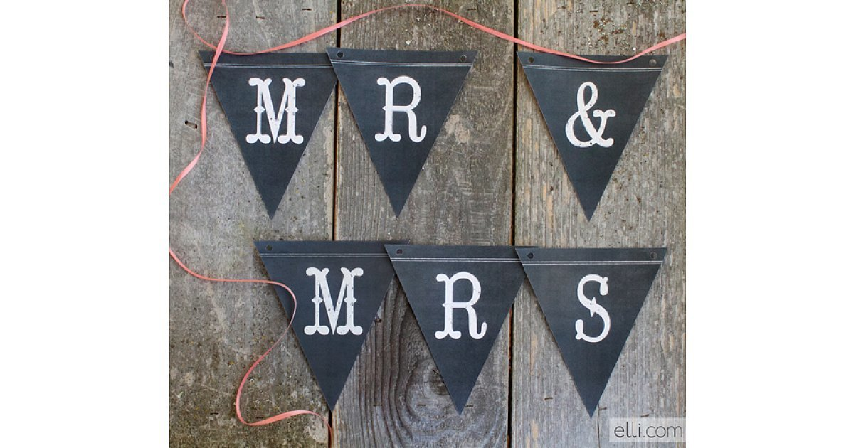 Or try these chalkboard banners! | 28 Free Beautiful ...