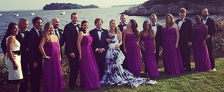 No Surprise Here: SJP Makes a Gorgeous Bridesmaid — Shop Her Dress!