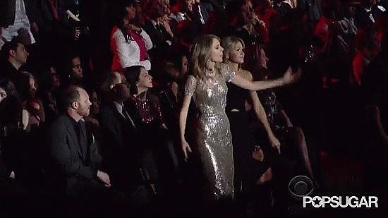 She Can Always Be Counted on to Dance at Award Shows