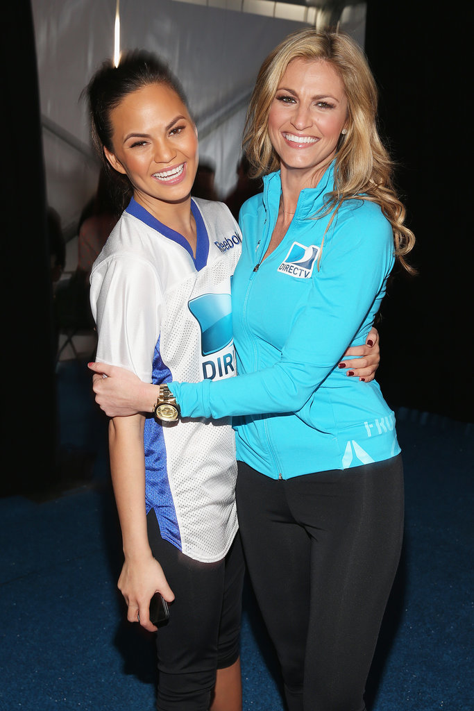 Chrissy Teigen and Erin Andrews