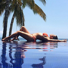 Kim Kardashian's Sexiest Bikini Body Pictures On Instagram