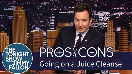 Jimmy Fallon Juice Cleanse Video