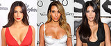 All the Times You Couldn't Believe Kim Kardashian's Cleavage