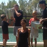 David Beckham's Ice Bucket Challenge | Video