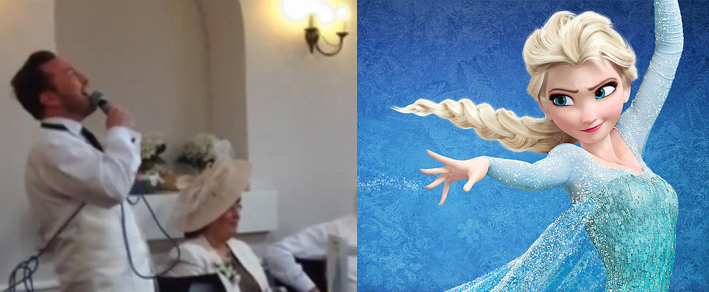 "Best Man Toasts to Frozen's ""Let It Go"""