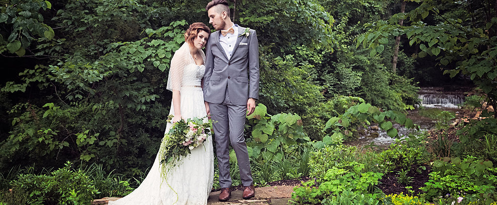 Rain Just Enhanced the Magic of This Enchanting Vintage Wedding