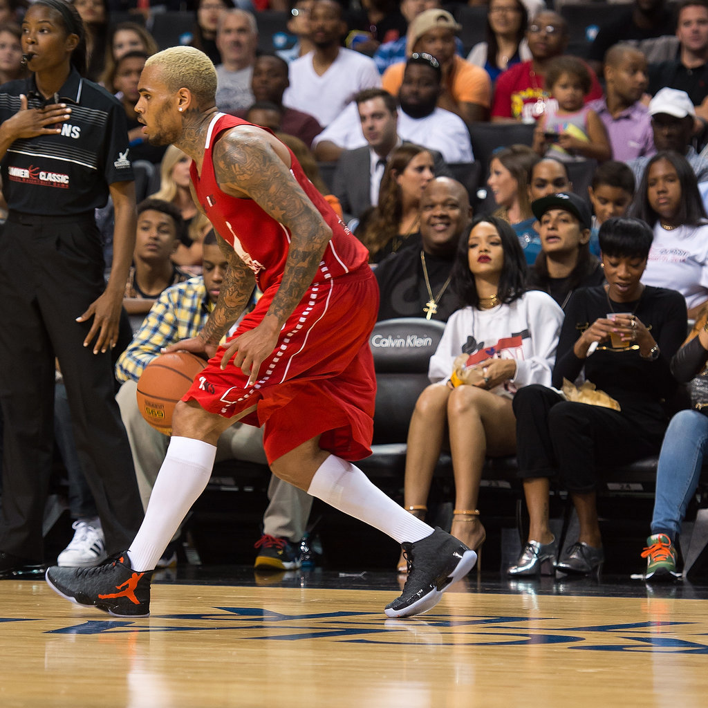 PIC: Rihanna, Chris Brown Come Face-to-Face at Charity ...