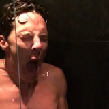 Benedict Cumberbatch Doing ALS Ice Bucket Challenge Naked