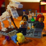 Lego Female Scientist Twitter Account