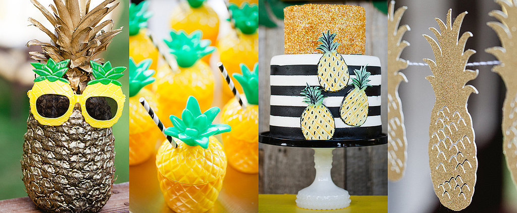 A Fantastically Fruity Pineapple-Themed Birthday Bash