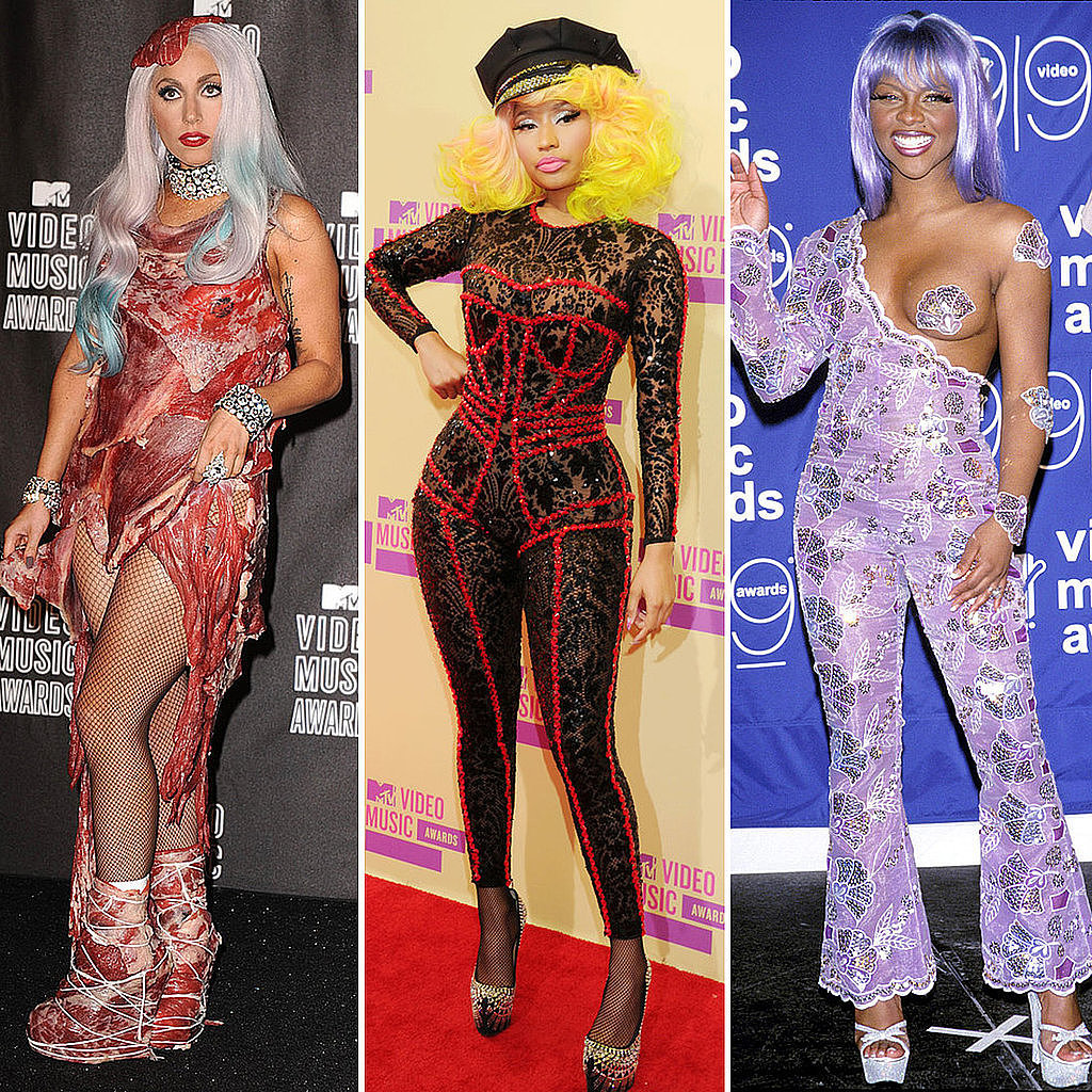 The Most Outrageous Outfits From the MTV VMAs
