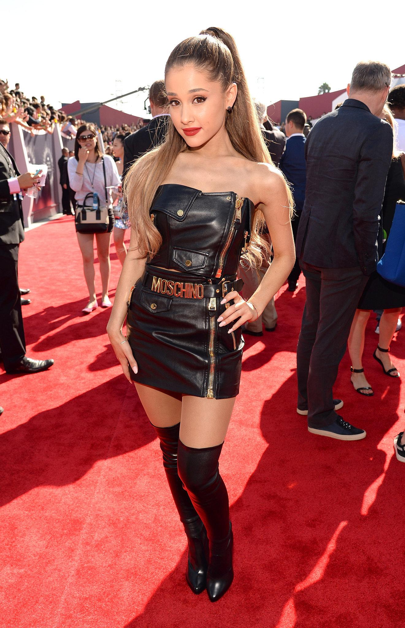 Ariana grande at the 2014 mtv vmas