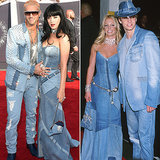 Katy Perry Dresses Like Britney Spears at VMAs 2014