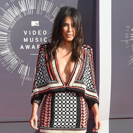 Kim Kardashian, Kylie Jenner, Kendall Jenner at the MTV VMAs