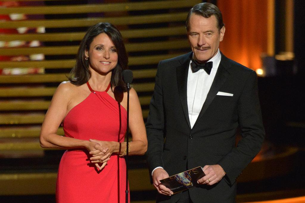 """Hold on, Clark Gable."" — Julia Louis-Dreyfus, prese"