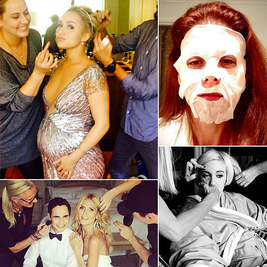 Pictures Of Celebrities Getting Ready For 2014 Emmy Awards