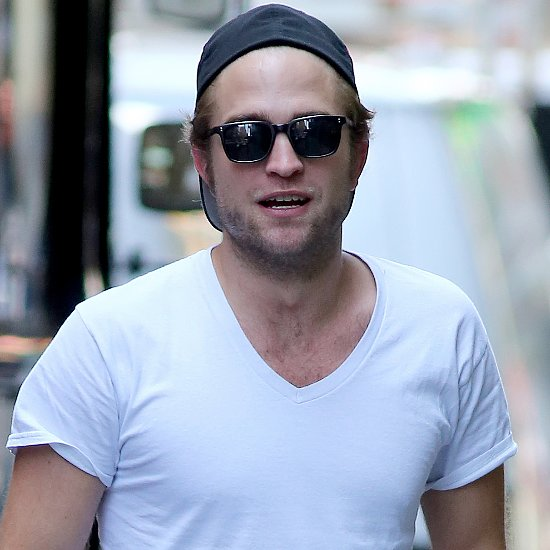 Robert Pattinson Wears His Hat Backward in NYC | Pictures