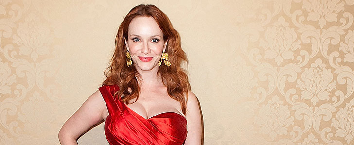 How Christina Hendricks's Stylist Made THIS Happen Last Night
