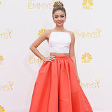 Live Red Carpet Dresses at the 2014 Emmy Awards