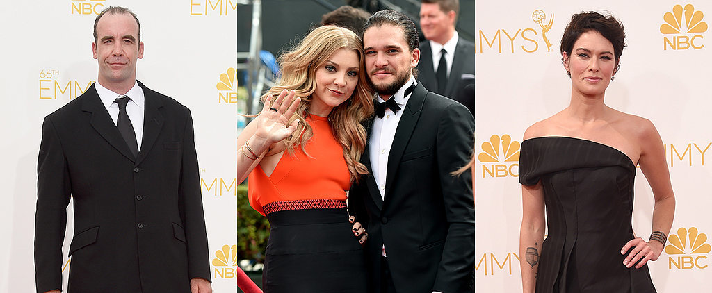 It's the Game of Thrones Cast Out of Costume on the Emmys Red Carpet!