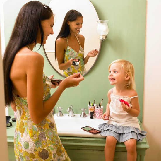 How to Talk to Your Young Daughter About Makeup