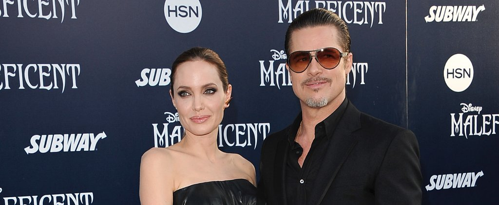 How Vampy Did Angelina Jolie Go For Her Wedding?