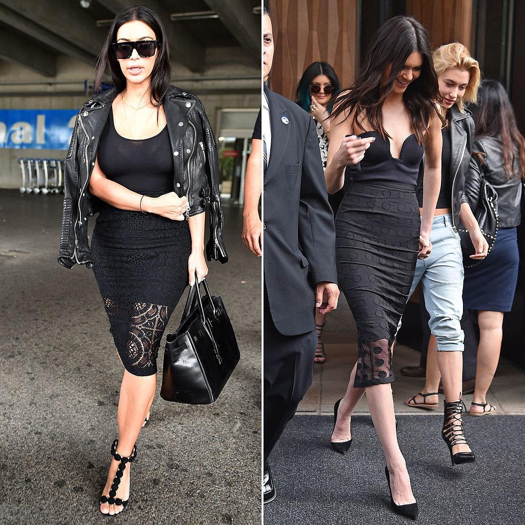 Who Wore a Black Skirt Set Better?