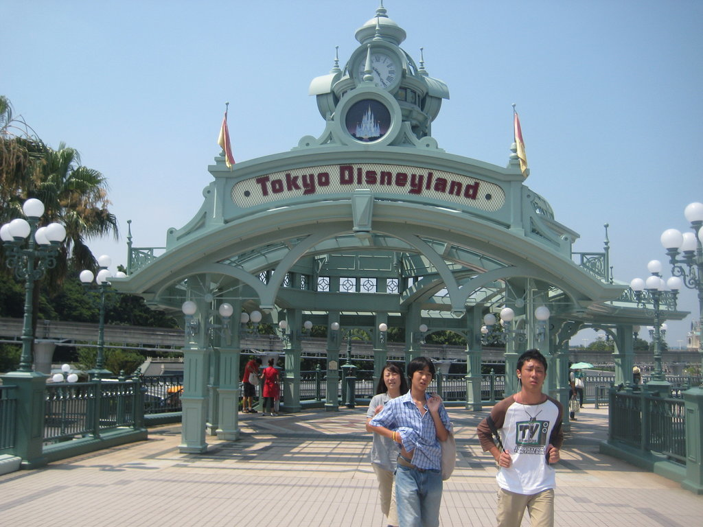 Let's start with Tokyo Disneyland.