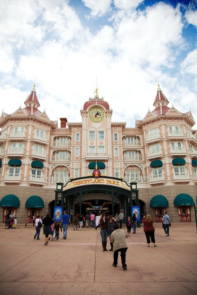 Now let's check out Disneyland Paris.