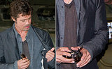 Brad Pitt Shows Wedding Ring After Marrying Angelina Jolie