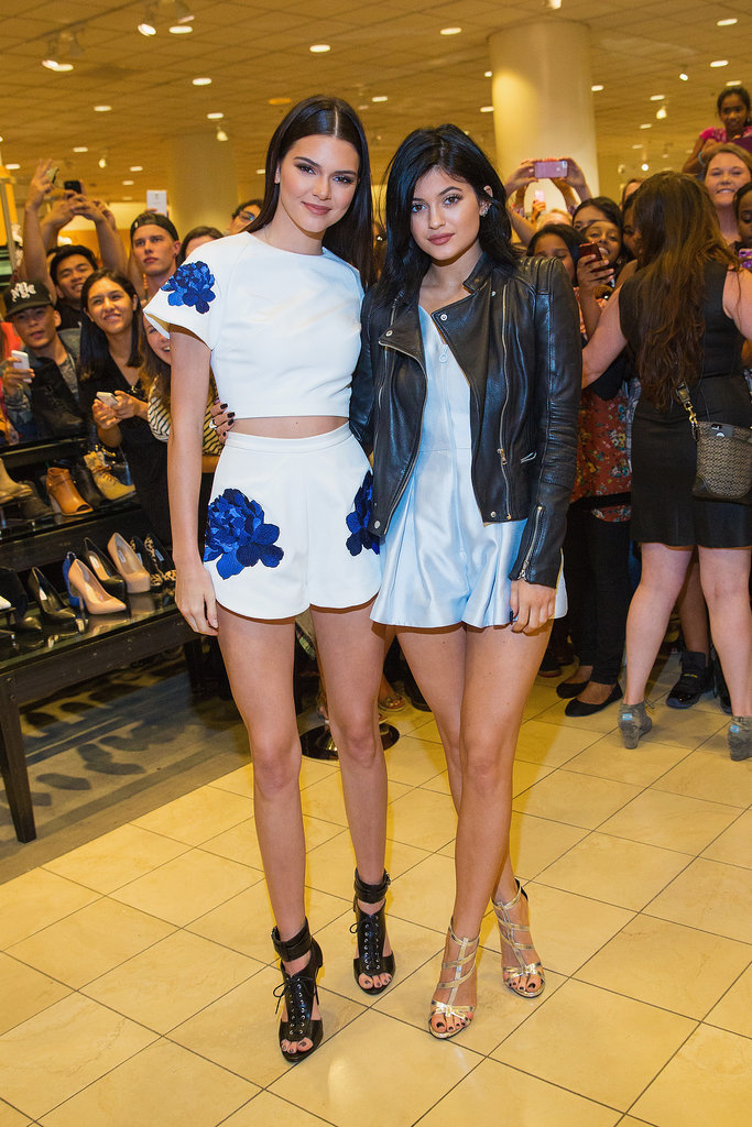 Kendall Jenner at a Madden Girl Event