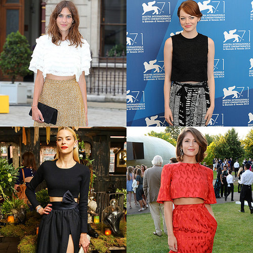 No Red Carpet Was Safe From the Crop Top This Summer